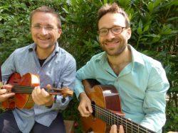 Klezmer string duo